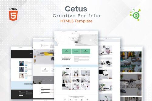 CETUS - Creative Porfolio HTML5 Template