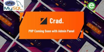 Chad - PHP Coming soon with Admin Panel