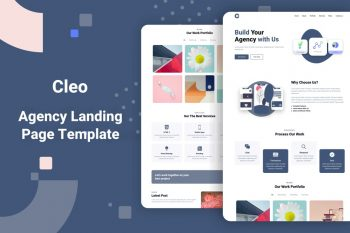 Cleo - Agency Landing Page Template