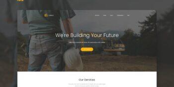Cobuild - Construction Landing Page Html Template