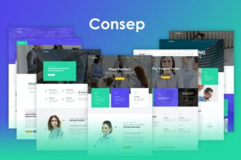 Consep - Responsive Multipurpose HTML5 Template