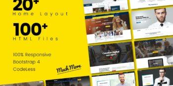 Consider - Multipurpose Responsive HTML5 Template