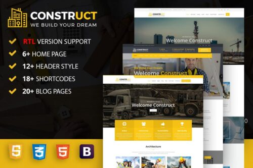 Construct Construction, Building & Maintenance