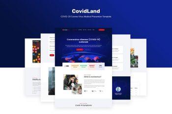 CovidLand COVID-19 Medical Prevention Template