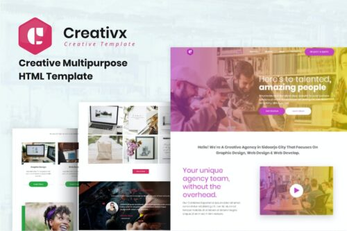 Creativx - Creative Multipurpose HTML Template