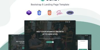 Deazy - Bootstrap 5 Landing Page Template