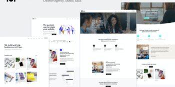 Dedafo - Corporate, Saas, Technology HTML Template