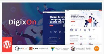 Digixon - Digital Marketing Strategy WP Theme