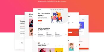 Drogency Multipurpose Creative Agency Template