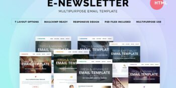 E-Newsletter - Multifunction Email Template