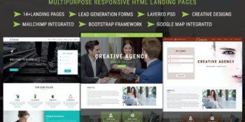 EVOLVE Multipurpose Responsive HTML Landing Pages