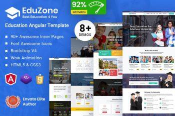 EduZone Education Course & School Angular10