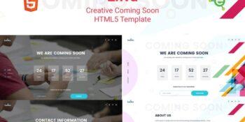Enva - Creative Coming Soon HTML5 Template