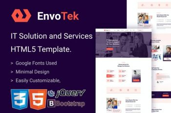 EnvoTek - IT Services and Solutions HTML5 Template
