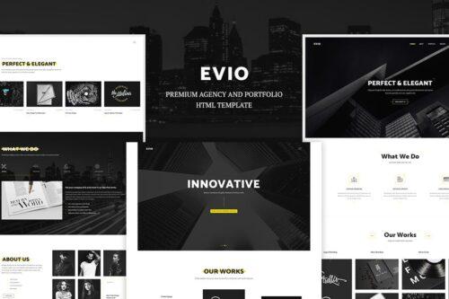 Evio - Agency & Portfolio HTML Template