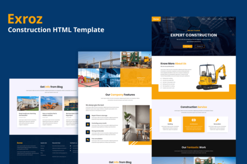 Exroz - Construction Template