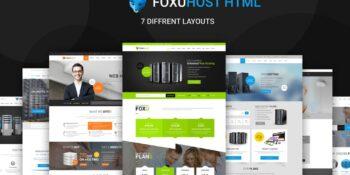 Foxuhost - Web Hosting, Responsive HTML5 Template