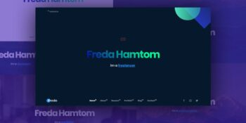 Freda Personal Resume Portfolio HTML Templete