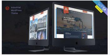 Glax Industry WordPress Theme