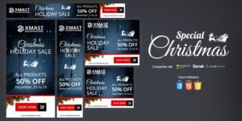 HTML5 Christmas Special Banner