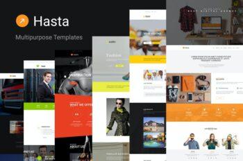 Hasta - Responsive Multipurpose HTML5 Template