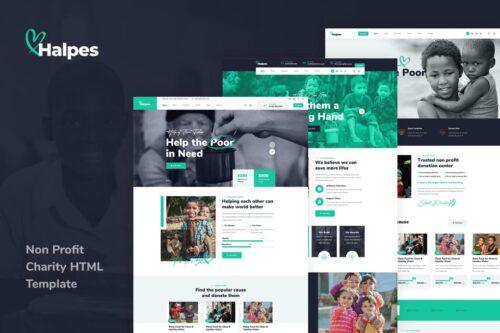 Hupes - Non Profit HTML Template
