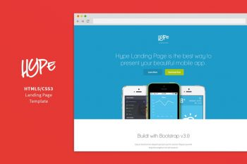 Hype - Application Home Page