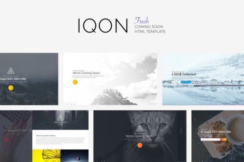 IQON - Fresh Template Soon