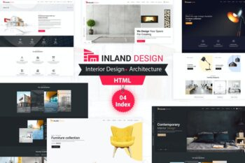Inland Design - Responsive HTML Template