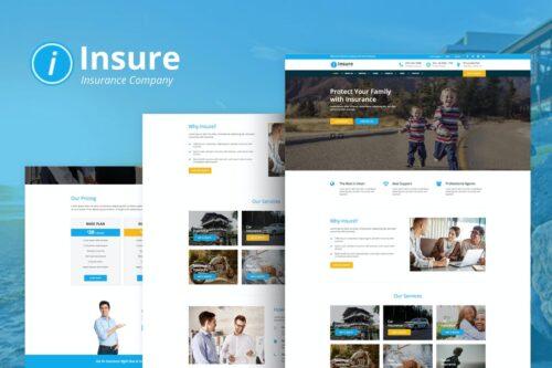 Insure - Insurance & Business HTML Templ