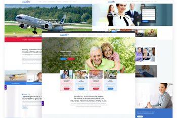Insurify - Insurance Agency Website Template