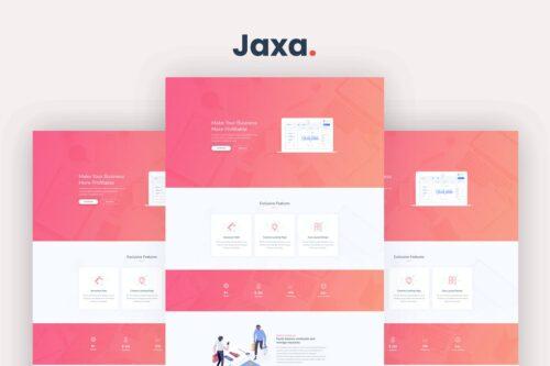 Jaxa - Starter Template and SaaS