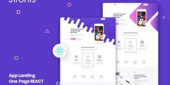 Jironis - React Next App Landing Page Template