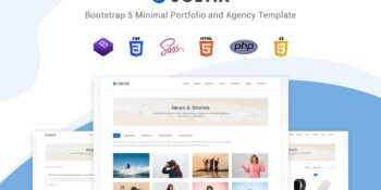 Joltix - Minimal Portfolio Template and Agency