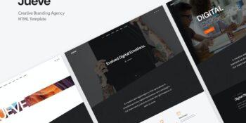 Jueve Creative Agency Onepage HTML Template