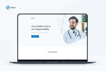 Kear - Medical & Healthcare Landing Page Template