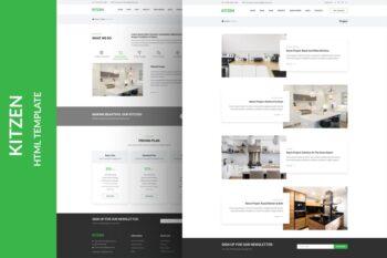 Kitzen Modern Kitchen HTML Template
