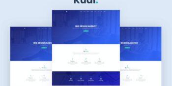 Kudi - One Page Parallax