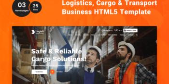 Logisti - Logistics & Transport HTML5 Template