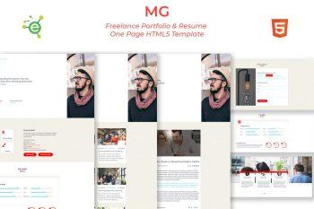 MG - HTML5 Portfolio & Resume Template