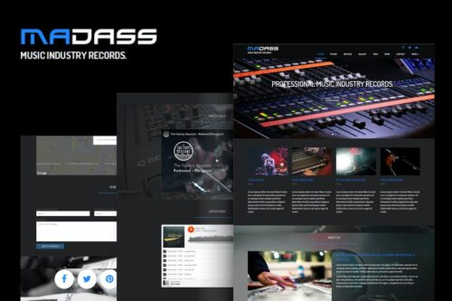 Madass - Music Industry HTML Template