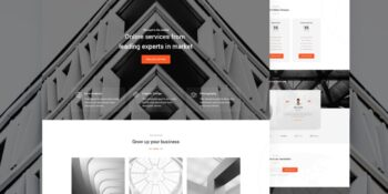 Magma - Business Landing Page Template