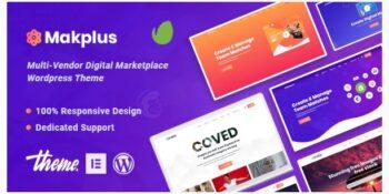 Makplus - Digital Marketplace WooCommerce Theme