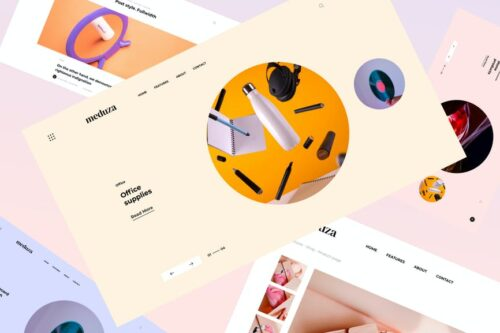 Meduza | HTML template for blog and store