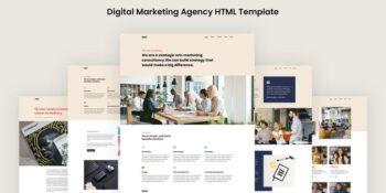 Moiz - Digital Marketing Agency HTML Template