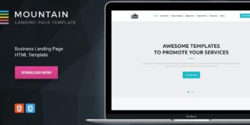 Mountain - Business HTML Landing Page