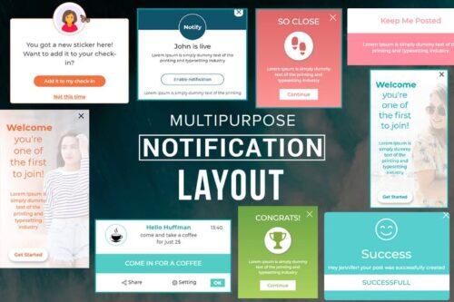Multifunction Notification Design