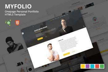 Myfolio - Personal Portfolio HTML5 Template