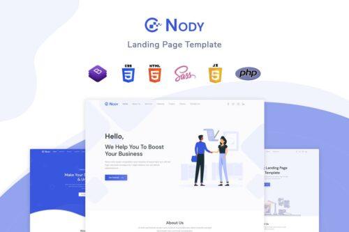 Nody - Landing Page Template