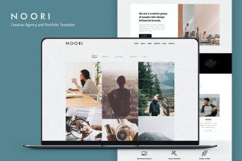 Noori - Creative Agency and Portfolio Template